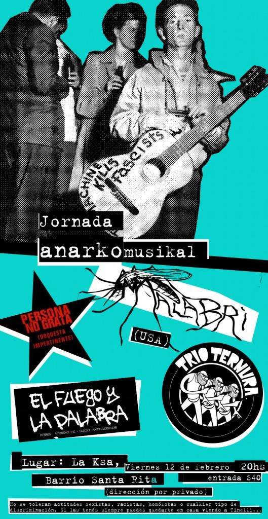 la ksa jornada_anarkomusikal